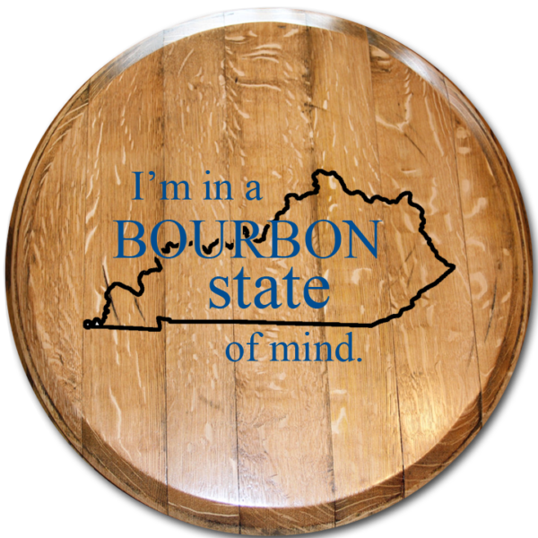 bourbon state of mind barrel head