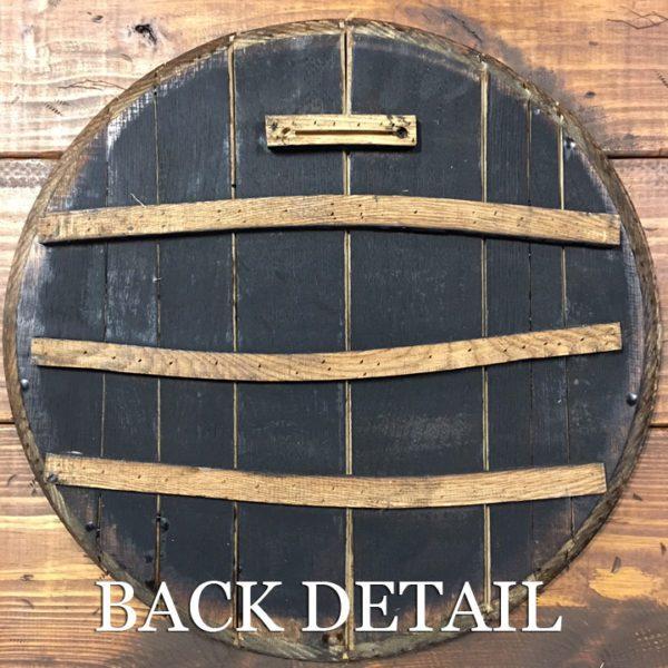 barrel head back detail