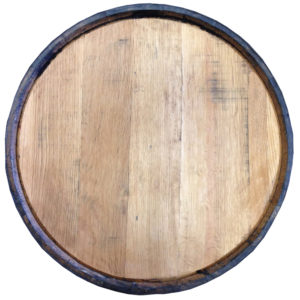 blank bourbon barrel quarter head