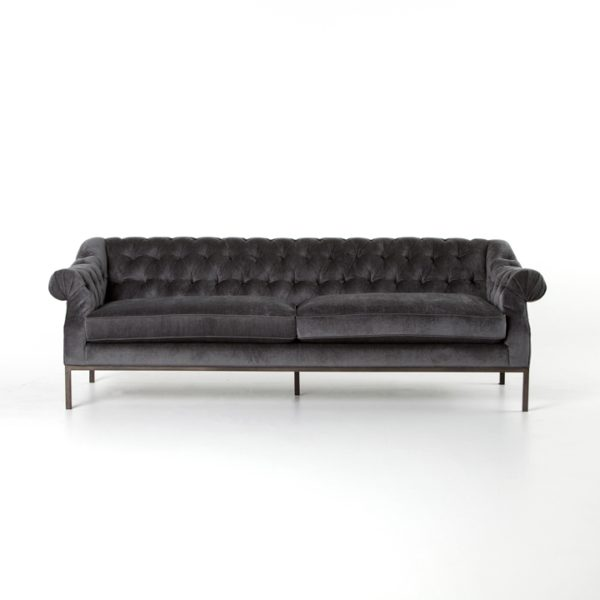 damon sofa front view
