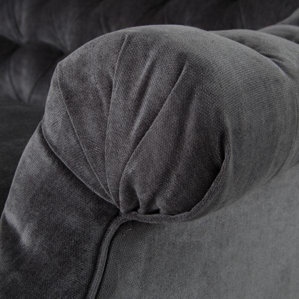 damon sofa arm detail