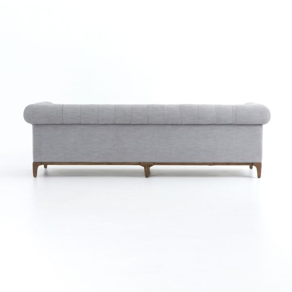 griffon grey sofa back detail