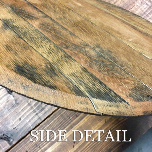 barrel head side detal