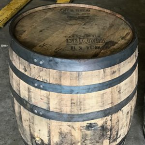 unfinished full size bourbon barrels