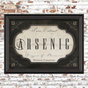 Framed Arsenic Print