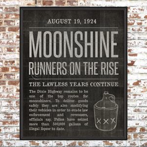 Moonshine News Article Print