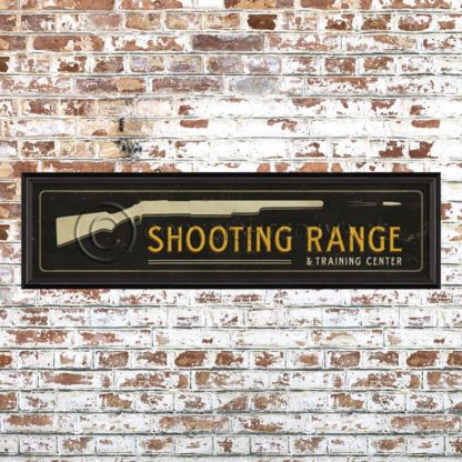 Framed Shooting Range Print