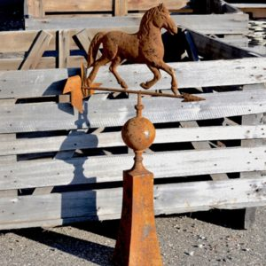 Rusted Horse Weathervane