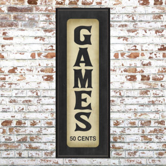 Games 50 Cents Print