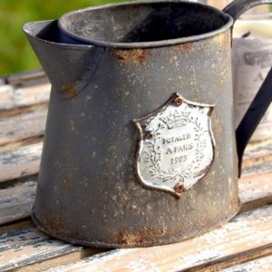 Vintage Metal Pitcher (Small)