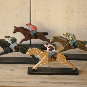 horse and jockey game pieces