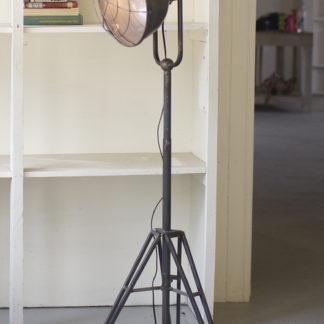 kalalou caged metal studio floor lamp