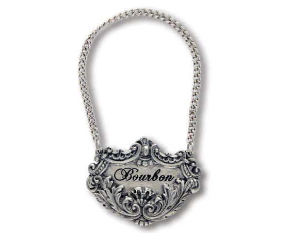 Medici Pewter Decanter Tags
