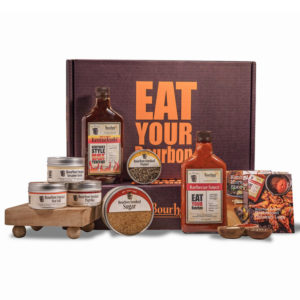 Eat Your Bourbon Gourmet Grilling Gift Box