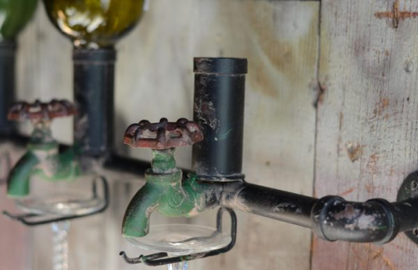 Wine Bottle Spigot Display 3