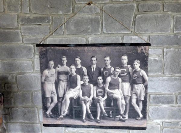 Vintage Track Team Photo