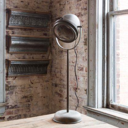 vintage auto headlight lamp tall