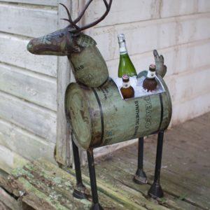metal deer cooler