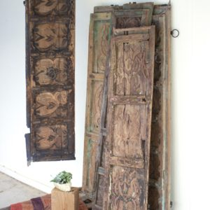 antique wooden door panels