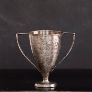vintage highest scoring chicken trophy