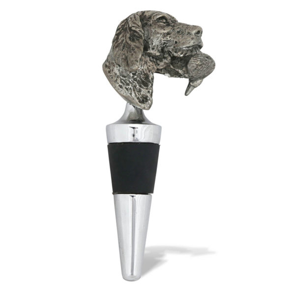 Labrador and Duck Bottle Stopper