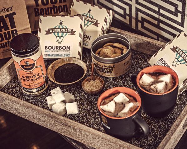 Bourbon Smoked Sea Salt Dark Hot Chocolate
