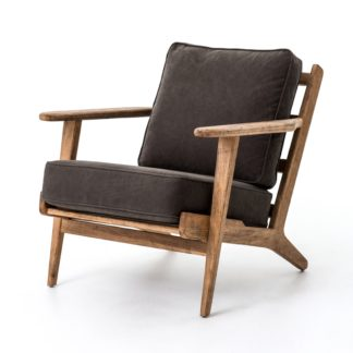 four hands brooks lounge chair stone