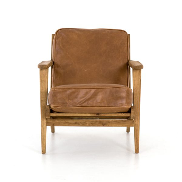 four hands brooks lounge chair palomino 2