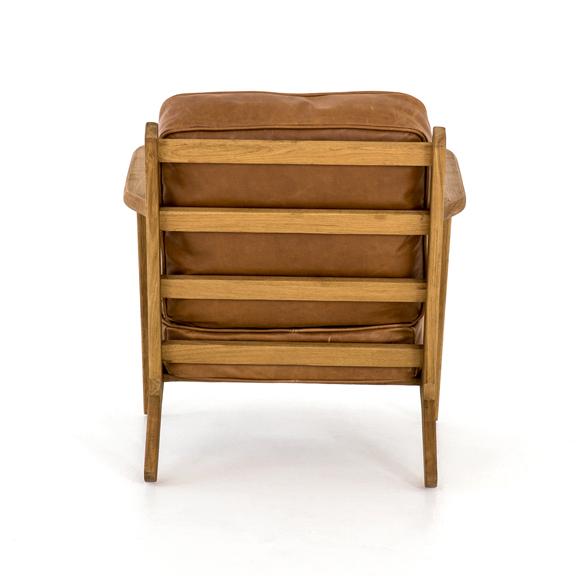 four hands brooks lounge chair palomino 4