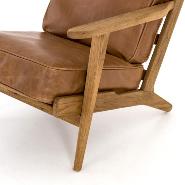 four hands brooks lounge chair palomino 5