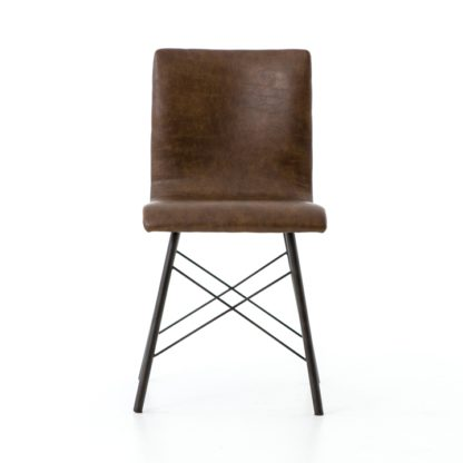 four hands diaw dining chair brown 2