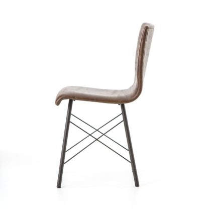 four hands diaw dining chair brown 3