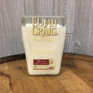 Recycled Elijah Craig Bourbon Candle