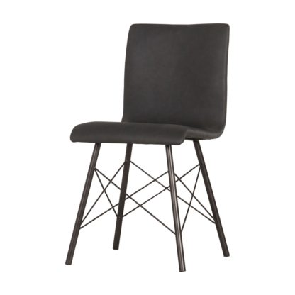 four hands diaw dining chair black