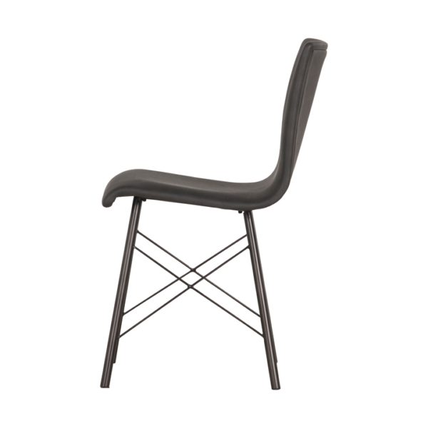 four hands diaw dining chair black 4