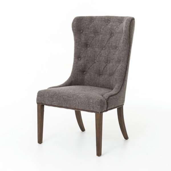 four hands elouise dining chair charcoal
