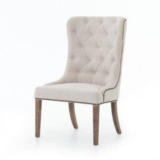 four hands elousie dining chair beige