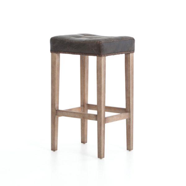 four hands sean bar stool black