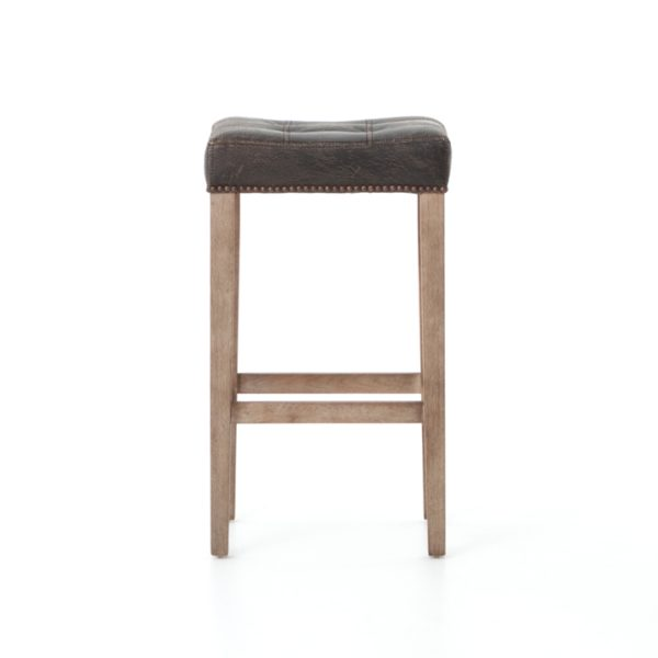 four hands sean bar stool black 4