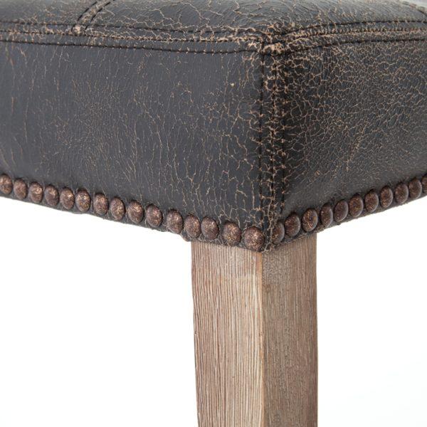 four hands sean bar stool black 5