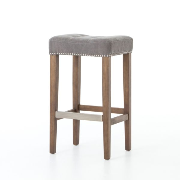 four hands sean bar stool grey