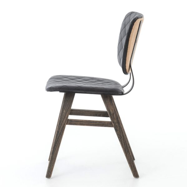 four hands sloan dining chair ebony 5