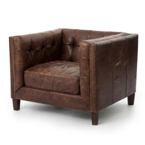 four hands abbott club chair cigar