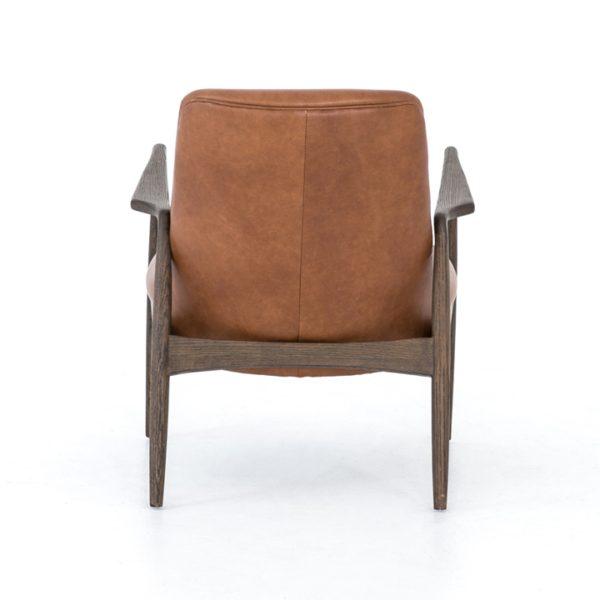 four hands braden chair brandy 4