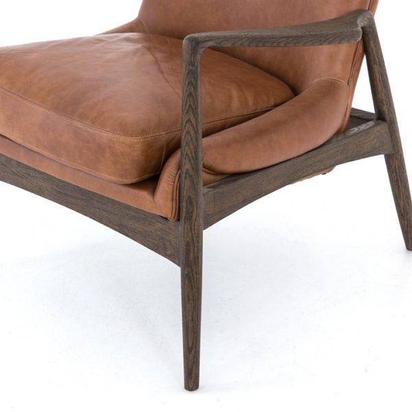 four hands braden chair brandy 5