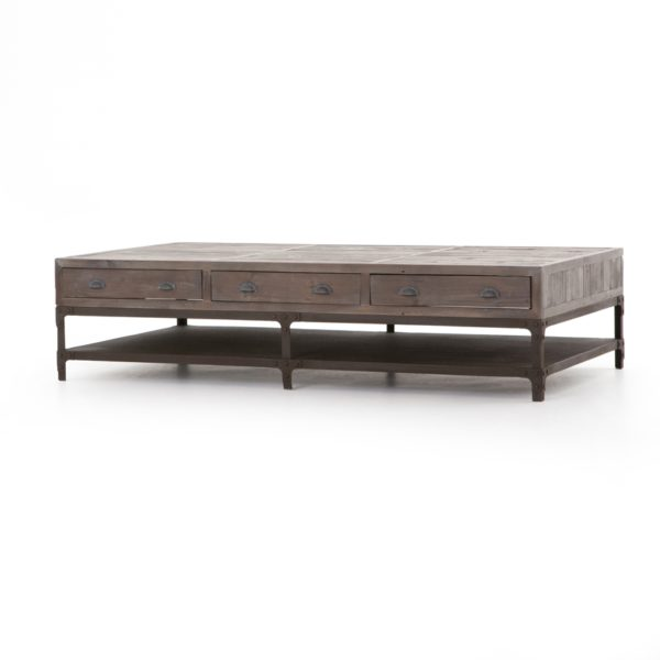 four hands campbell coffee table large