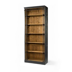 four hands ivy bookcase black