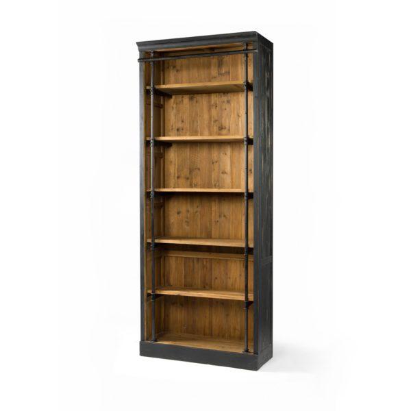 four hands ivy bookcase black