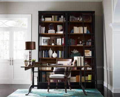 four hands ivy bookcase black 2