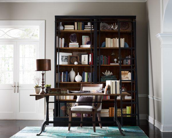 four hands ivy bookcase black 2